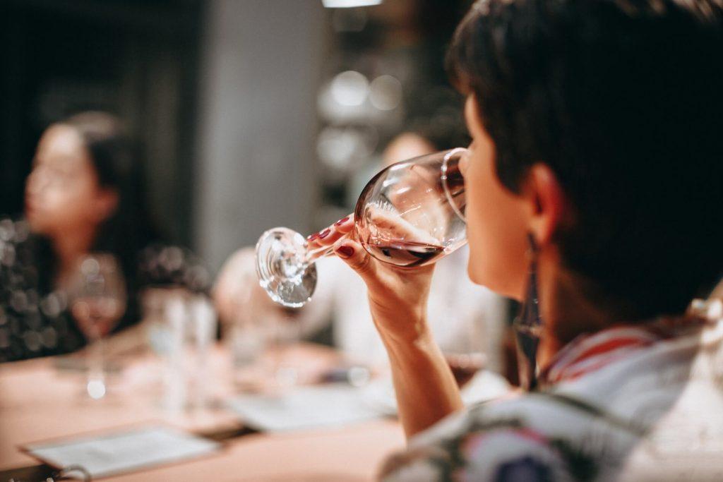ako degustovať víno