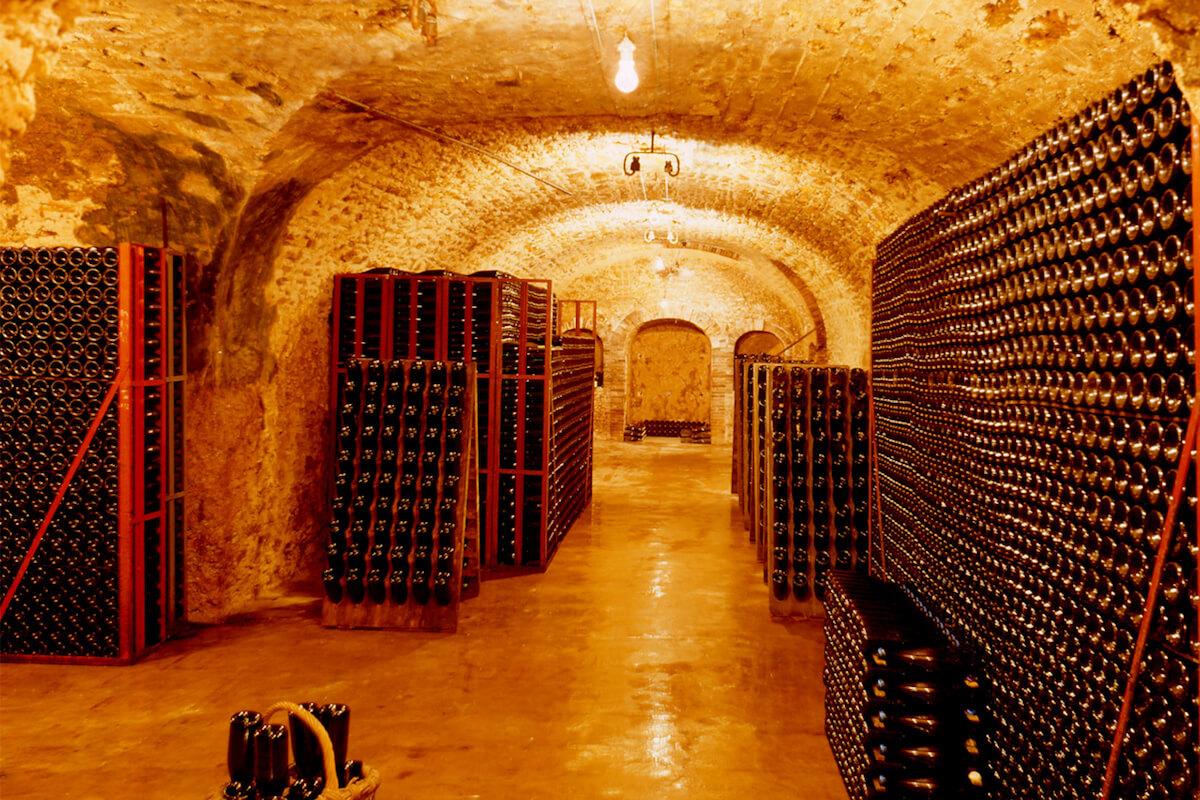 Champagne J.L. Vergnon vínna pivnica