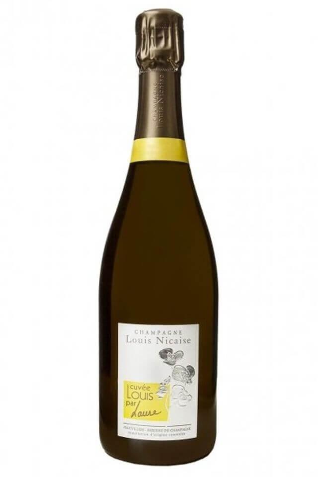 Champagne Brut 1er Cru LOUIS par LAURE 2007; / 2008; / 2011