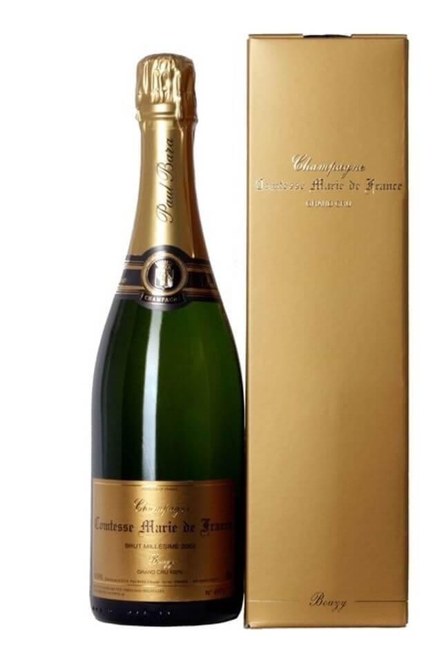 Champagne Comtesse Marie de France 2006, Grand Cru