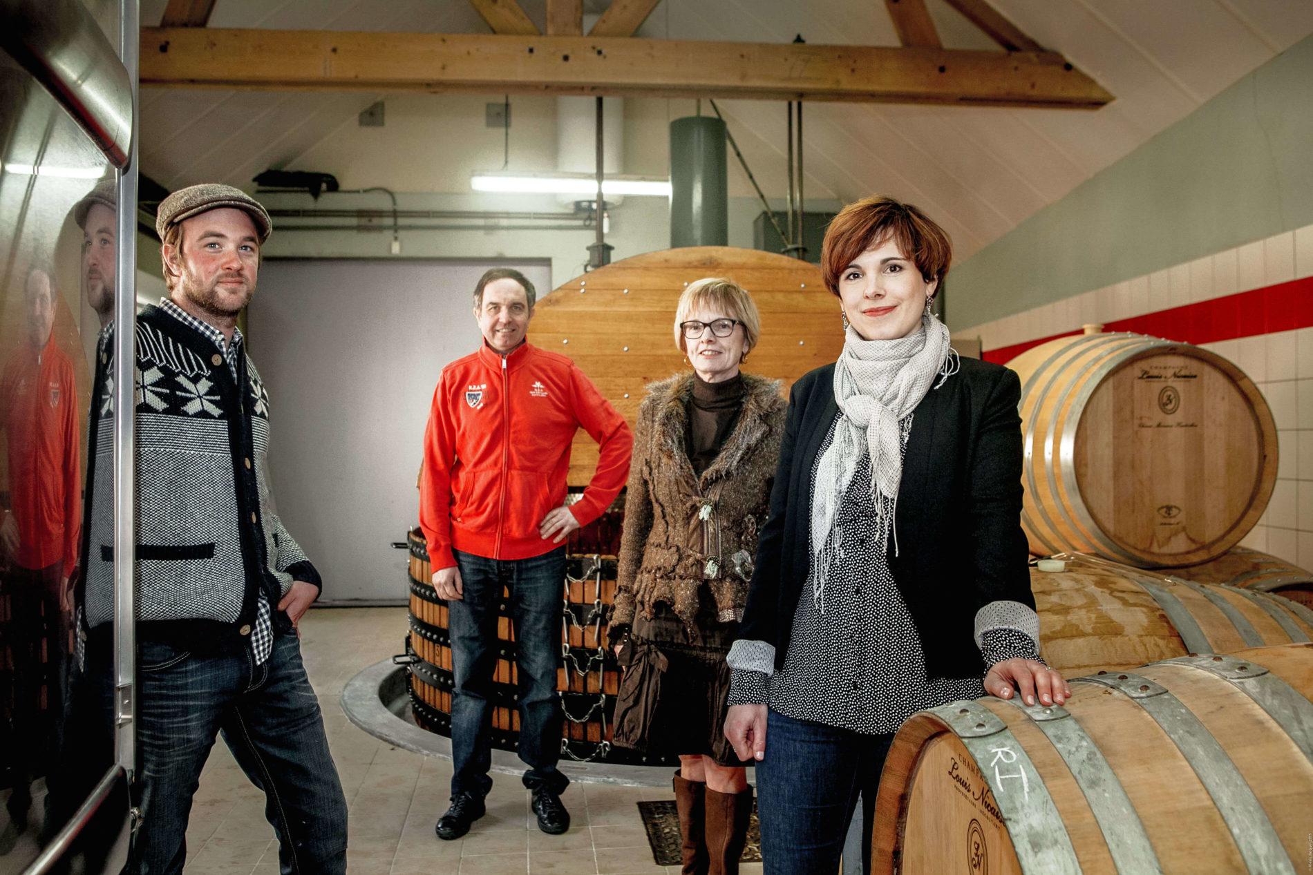 Champagne Louis Nicaise rodina