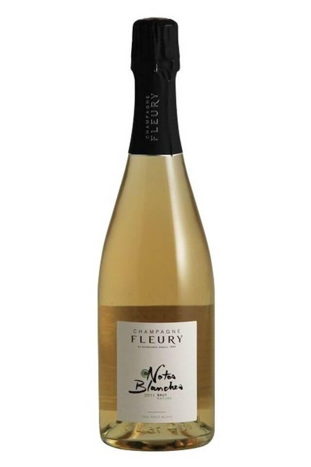 Champagne Notes Blanches Brut Nature 2011 – absolútna rarita!!! Čistý Pinot blanc !!!