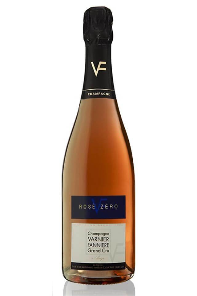 Champagne ROSÉ ZERO Brut, Grand Cru