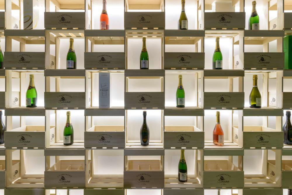 champagne de sousa vína