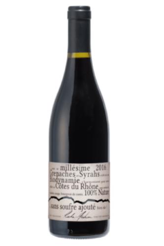 Cuvée NATURE - Sans soufre ajouté Côtes du Rhône 2017, bez pridanej síry