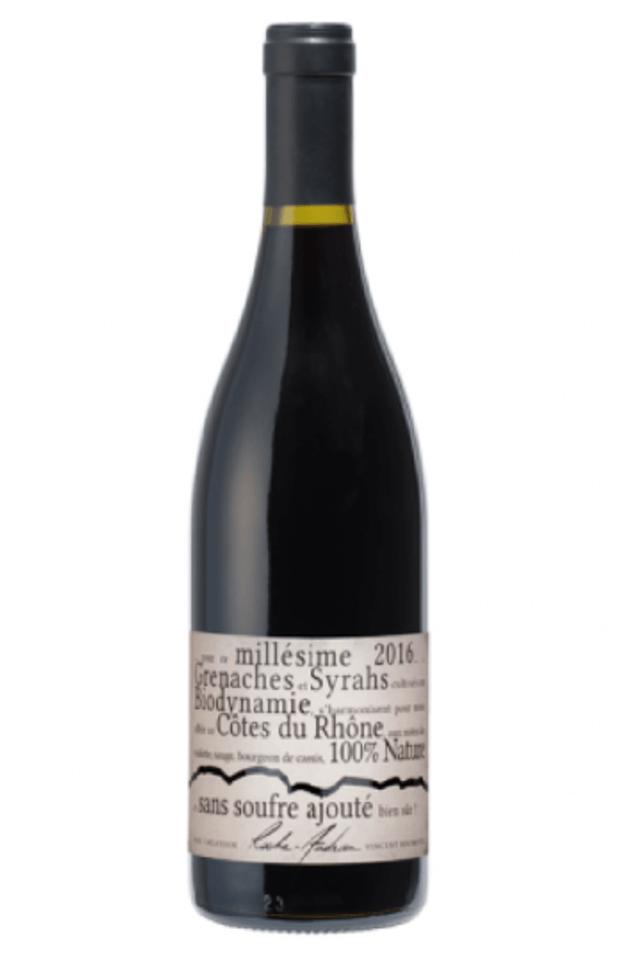 Cuvée NATURE – Sans soufre ajouté Côtes du Rhône 2017, bez pridanej síry