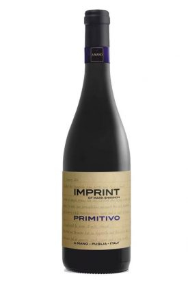 Imprint of Mark Shannon IGT PRIMITIVO 2017