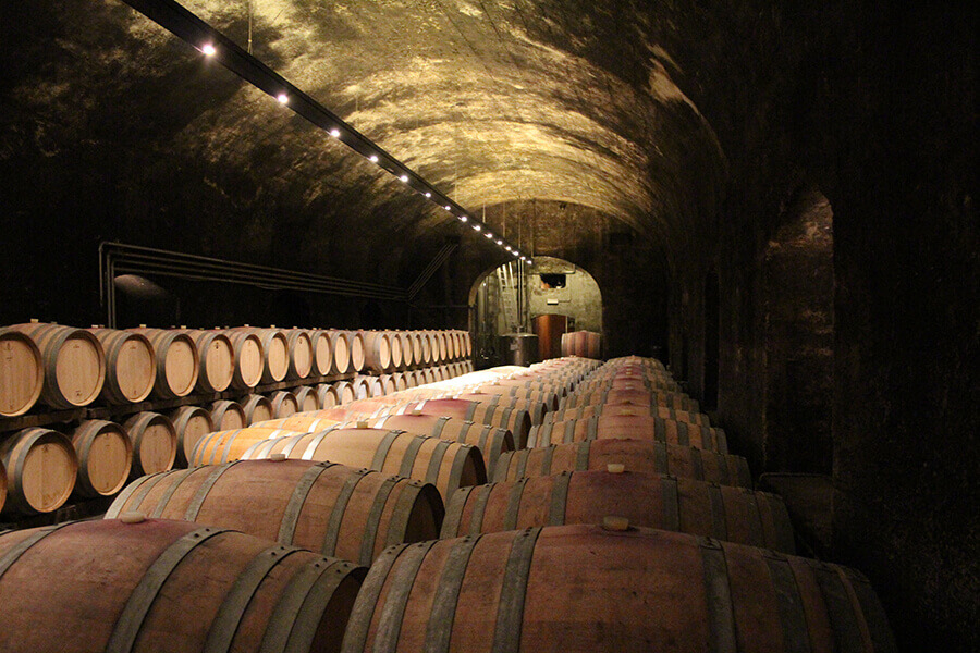 Kaltern vínna pivnica
