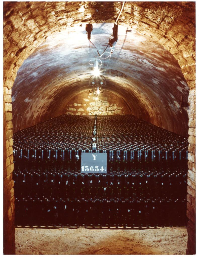 Champagne Paul Bara vínna pivnica