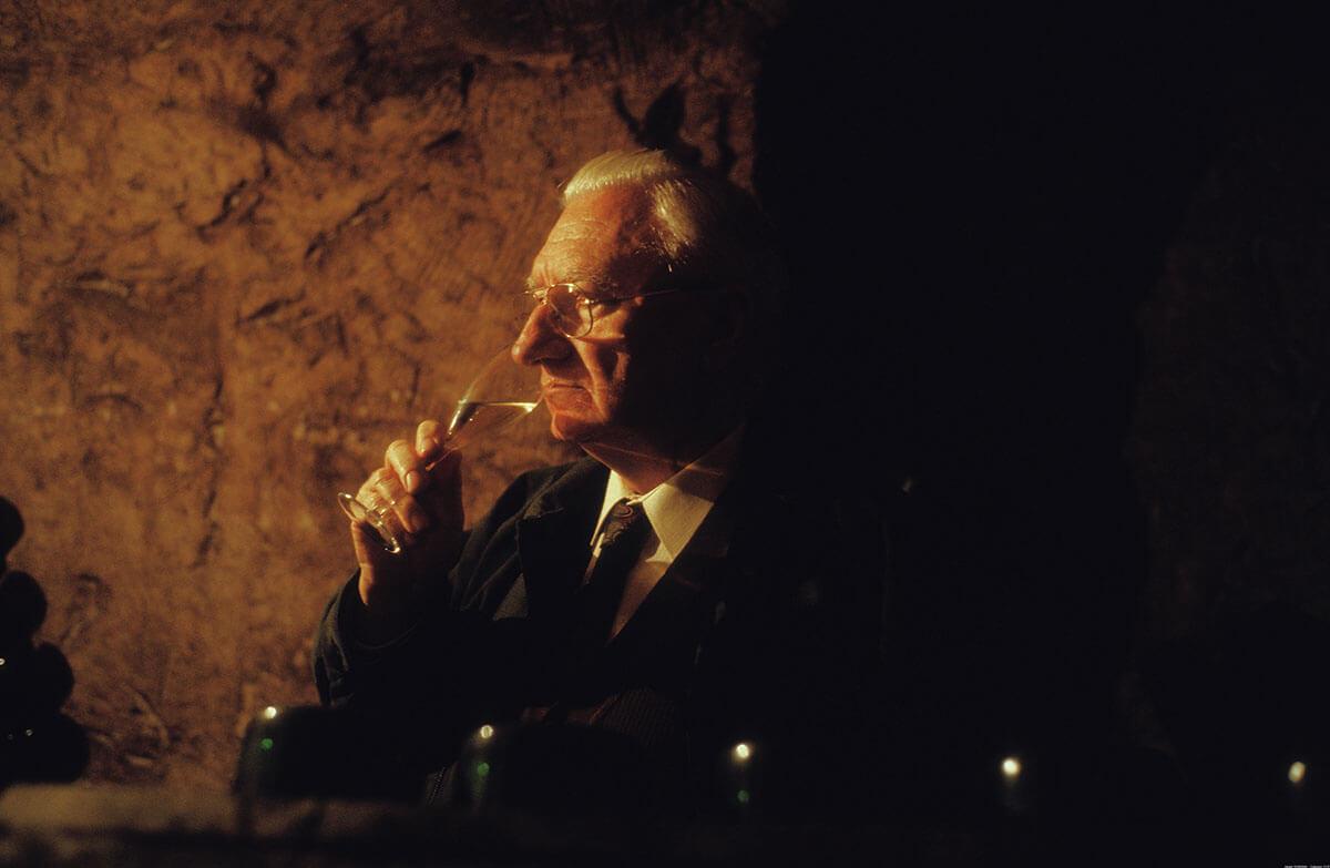 Champagne Paul Bara historická fotka