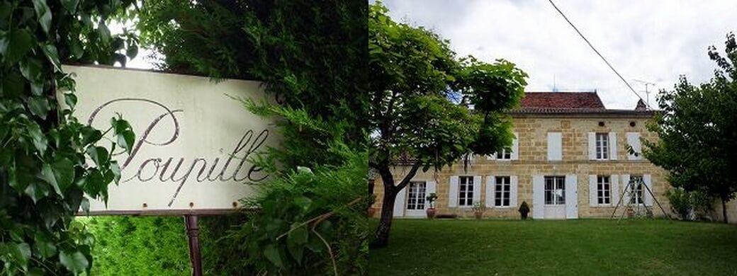 Château Poupille sídlo