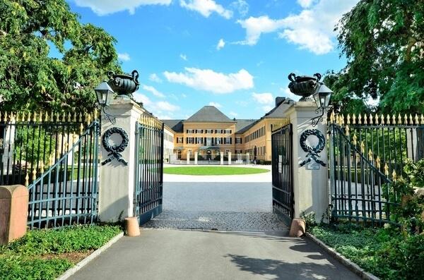 Schloss Johannisberg brána