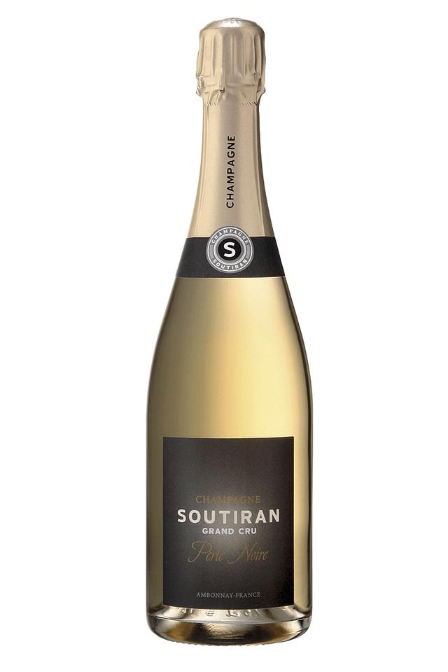 Champagne Cuvée Perle Noire, Brut Grand Cru